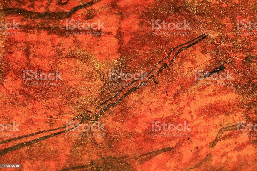 Orange Paper Background stock photo