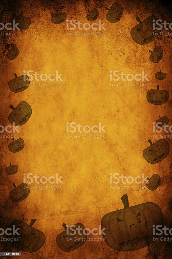 Orange paper royalty-free stock photo