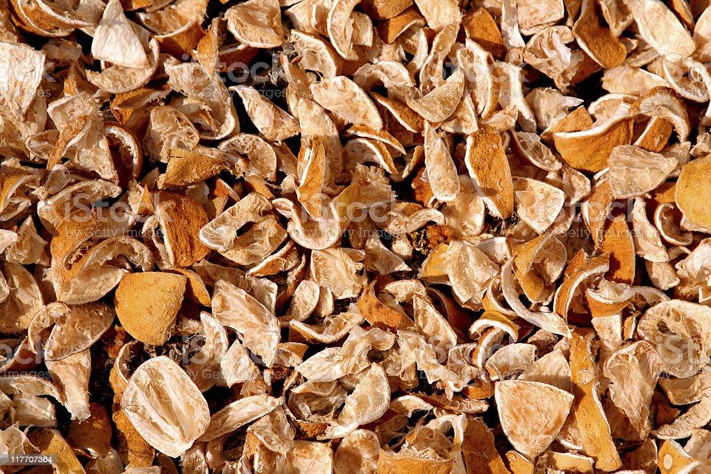 orange peel royalty-free stock photo