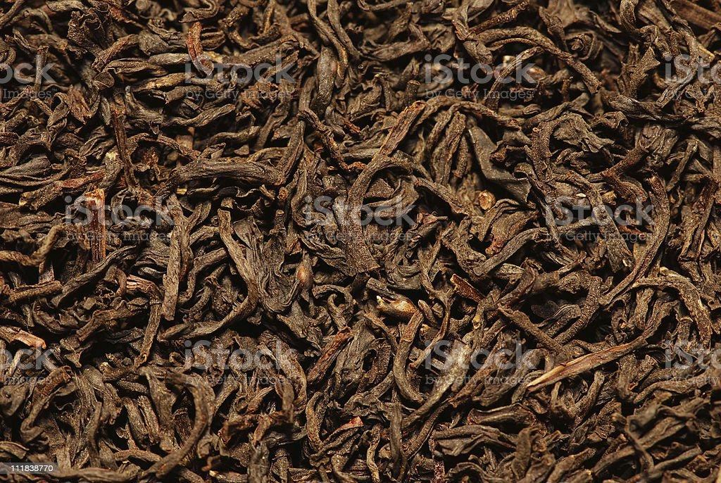 Orange pekoe black tea background royalty-free stock photo