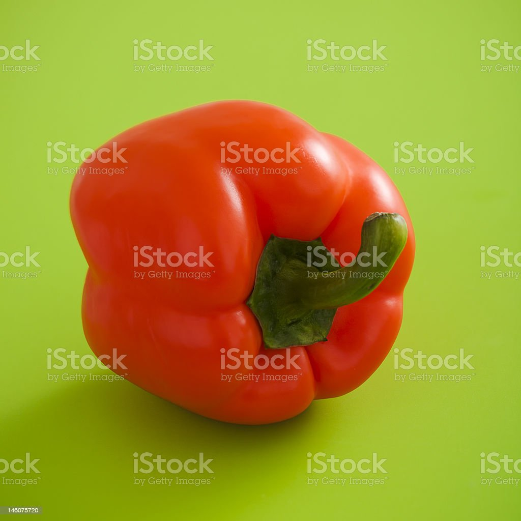 Orange pepper royalty-free stock photo
