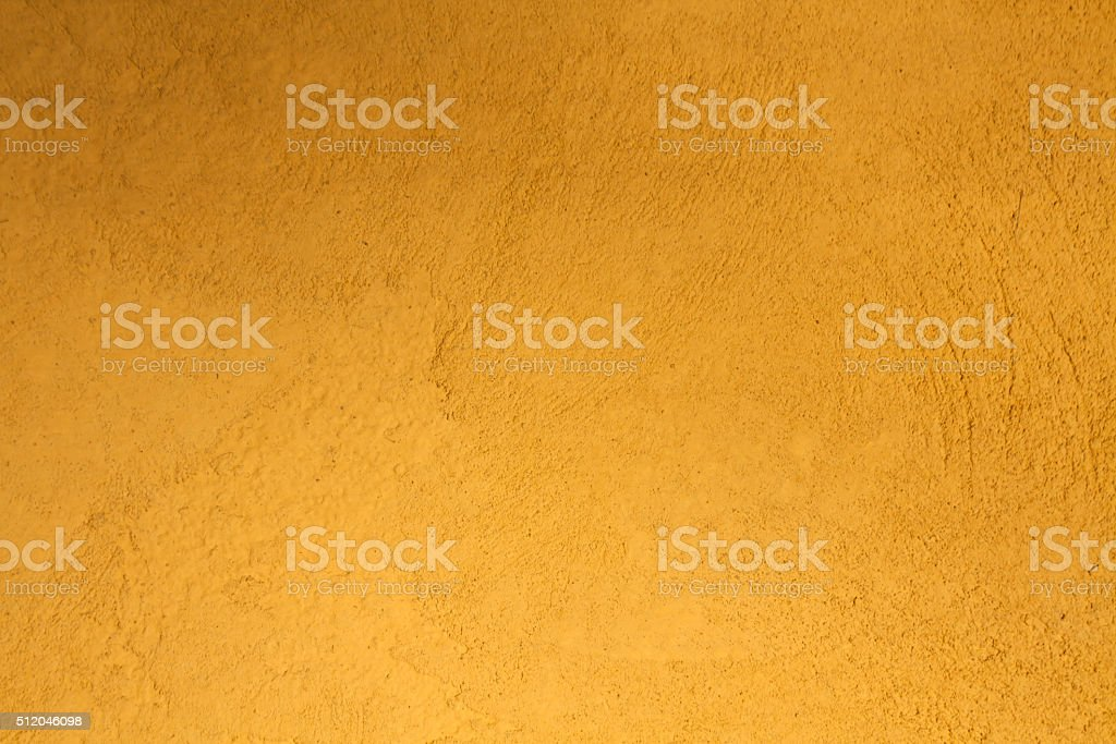 Orange plaster wall texture stock photo