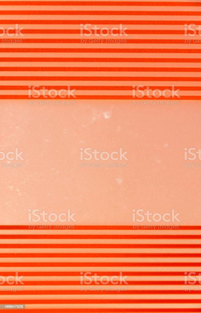 Orange plastic folder royalty-free stock photo