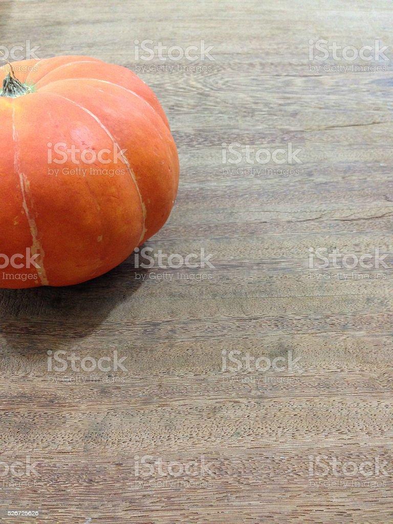 Orange citrouille photo libre de droits