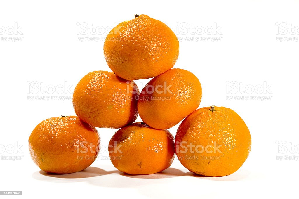 Orange Pyramid 3 royalty-free stock photo