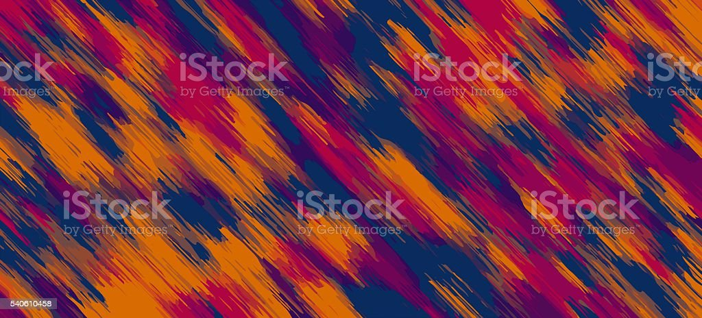 orange red blue and pink painting abstract stock photo