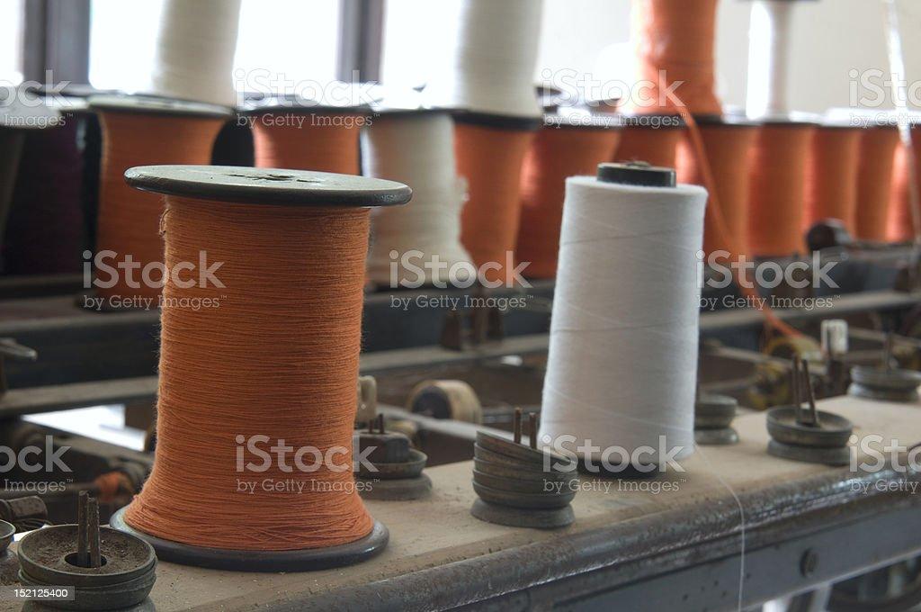 Orange Reel stock photo