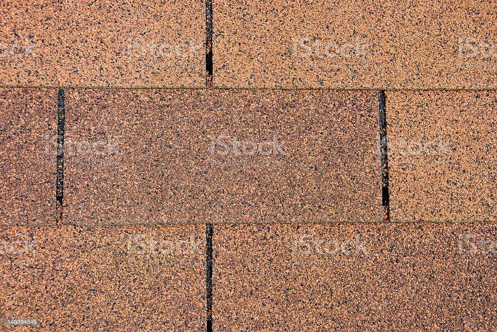 Orange Roofing Shingles royalty-free stock photo