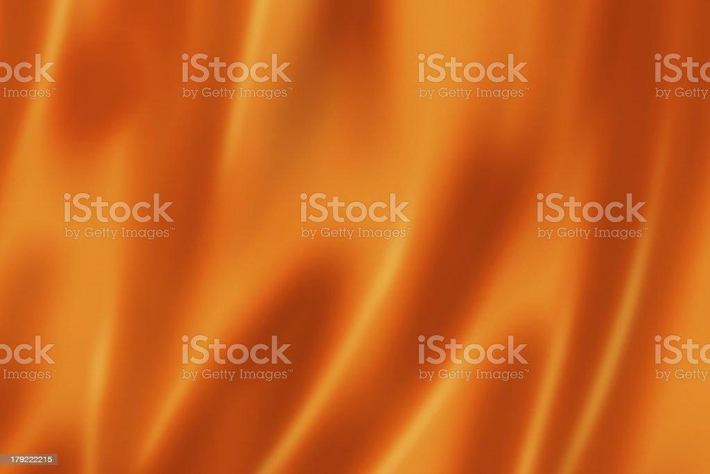 Orange satin texture royalty-free stock photo