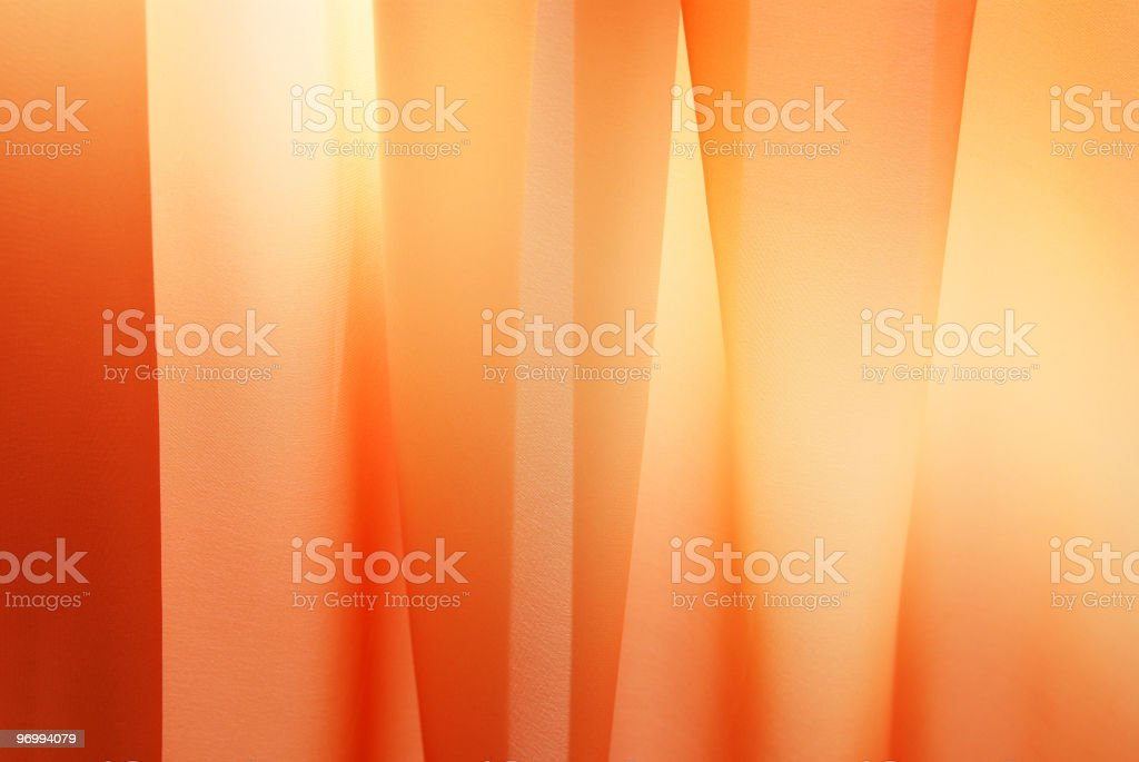 Orange silk royalty-free stock photo