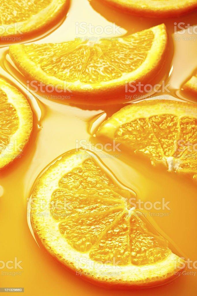 orange slices background royalty-free stock photo