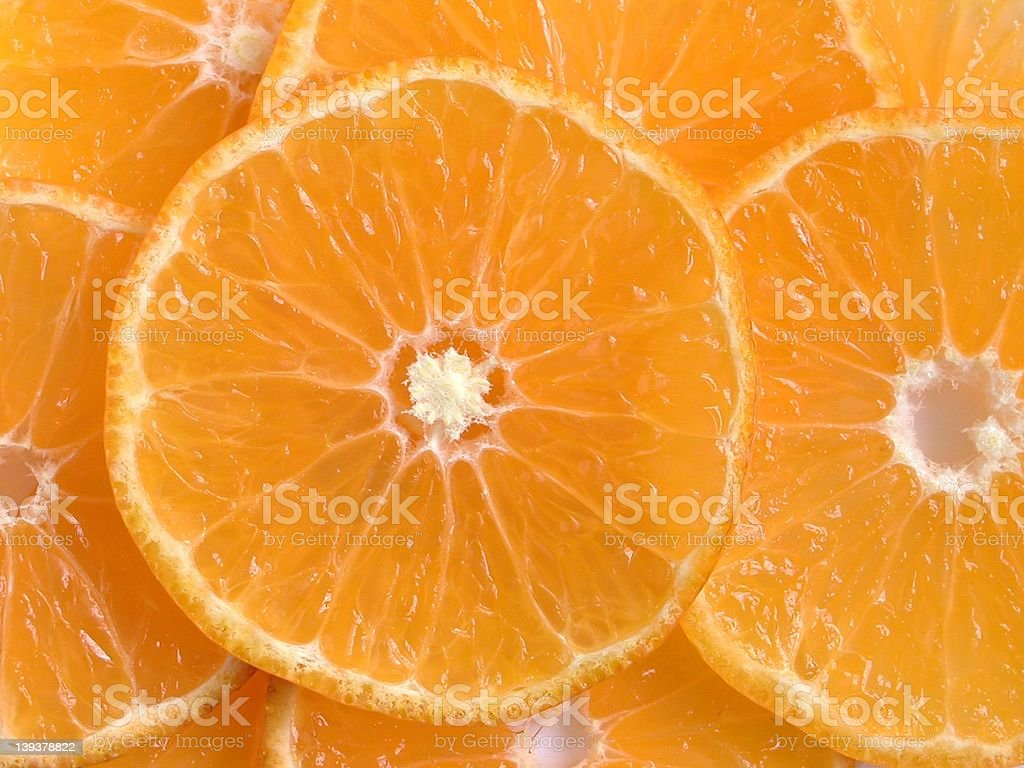 Orange Slices royalty-free stock photo