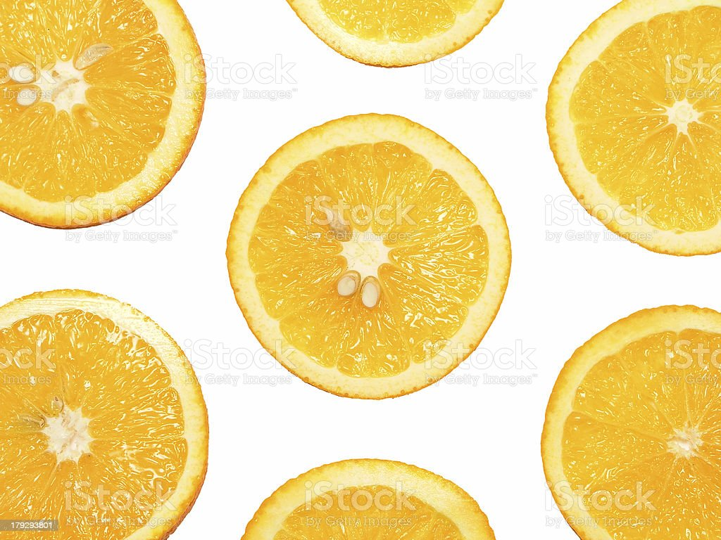 orange slices royalty-free stock photo