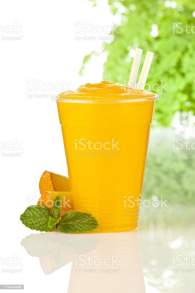Orange Smoothie royalty-free stock photo