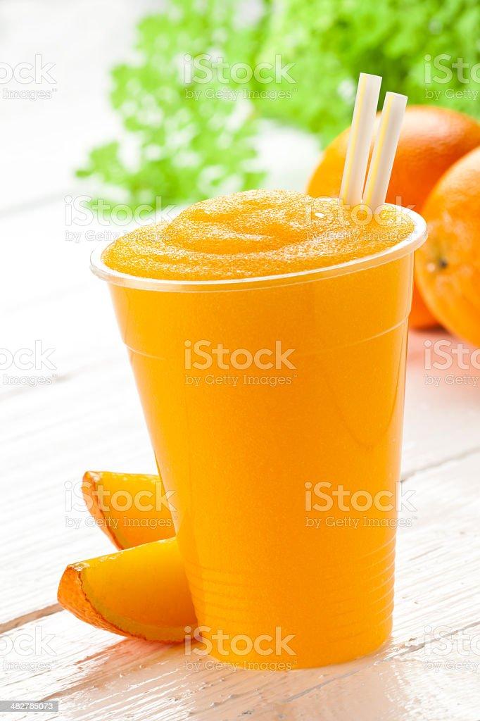Orange Smoothie stock photo