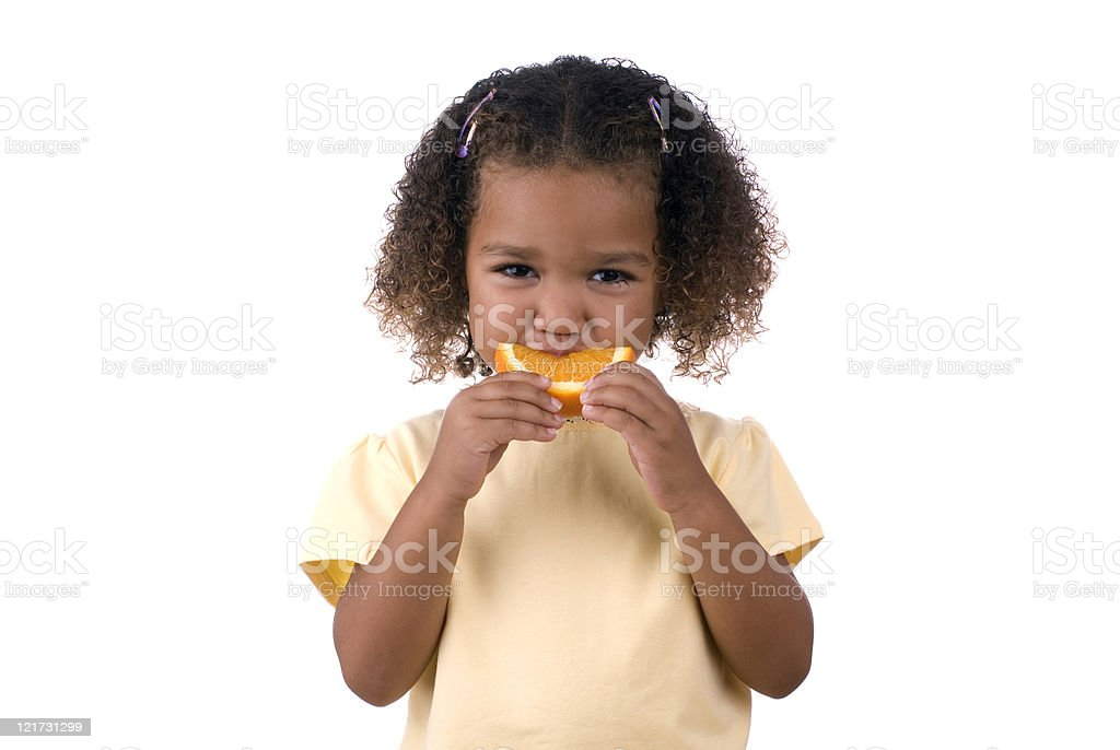 Orange Snack royalty-free stock photo