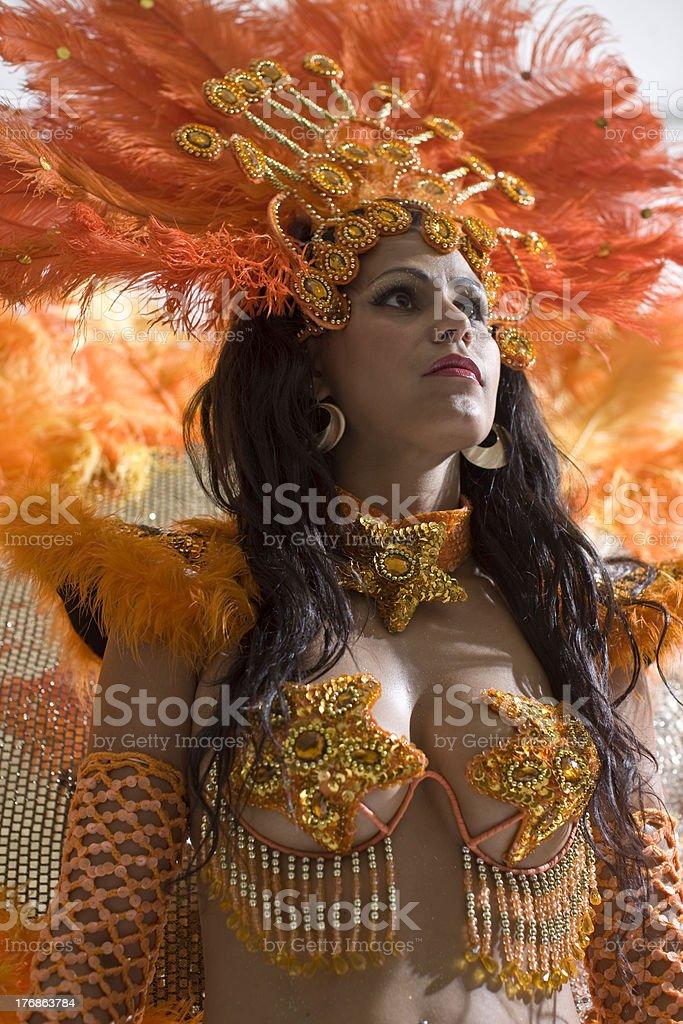 orange stars royalty-free stock photo