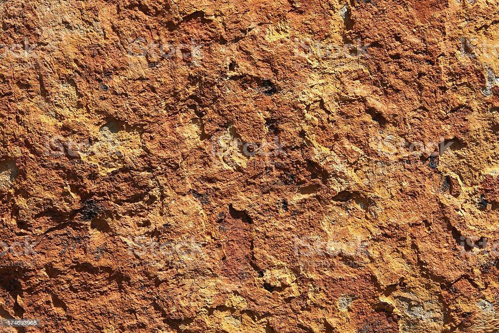 Orange Stone royalty-free stock photo