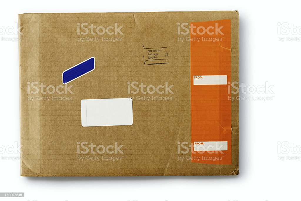 Orange strip royalty-free stock photo