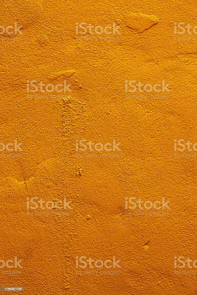 Orange stucco plaster wall texture background royalty-free stock photo