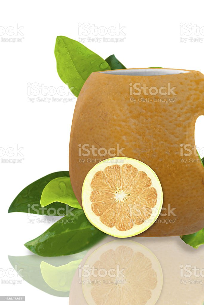 Orange tea royalty-free stock photo