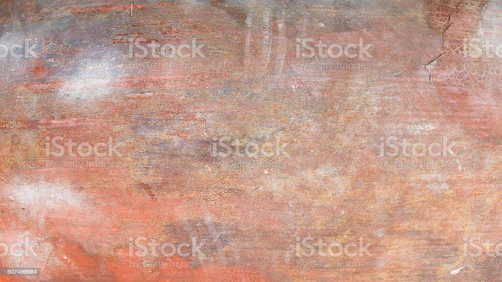 Orange texturierter Hintergrund, grunge-Hintergrund Lizenzfreies stock-foto