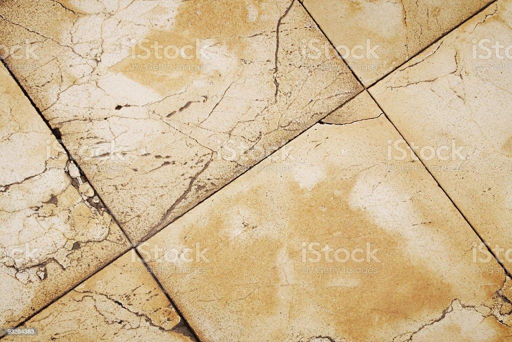 Orange tiles stock photo