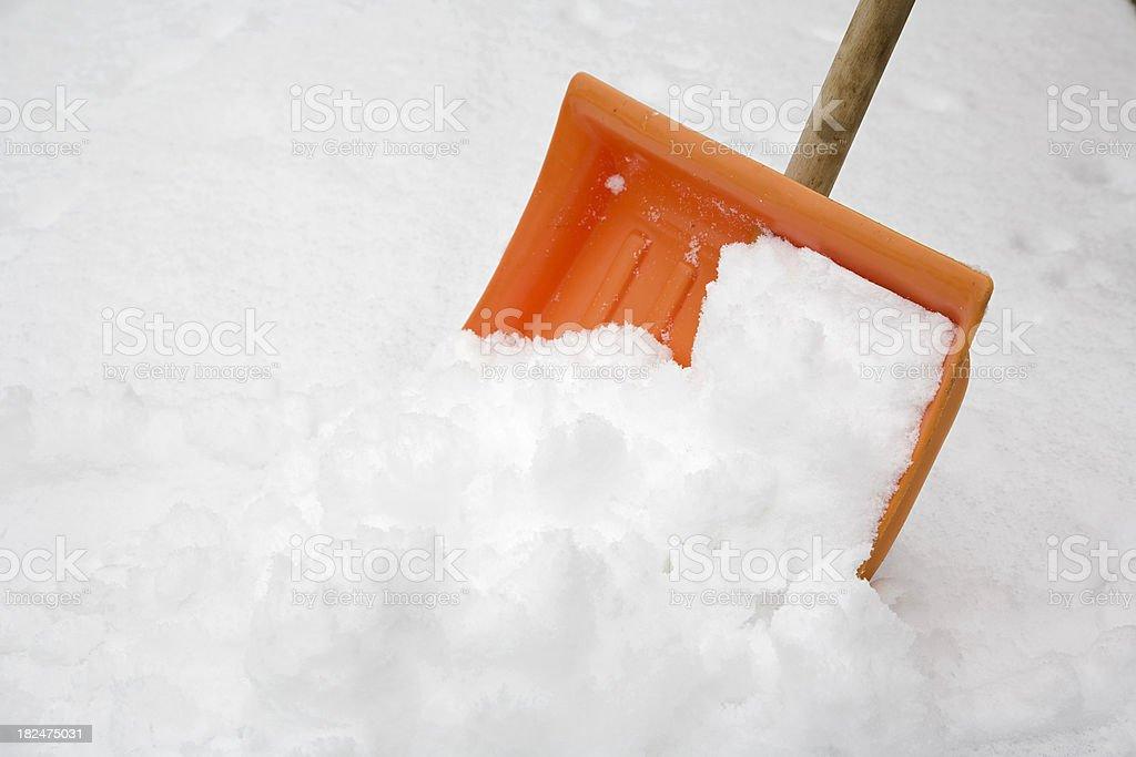 orange to white royalty-free stock photo