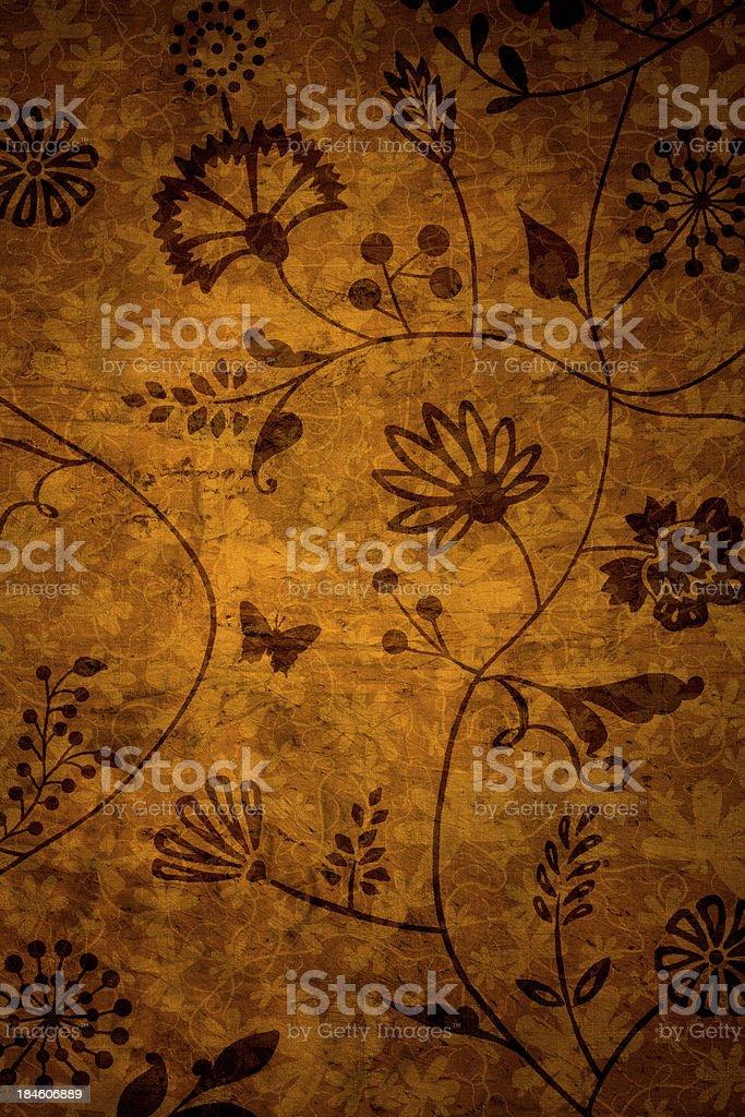 Orange Vintage Background royalty-free stock photo