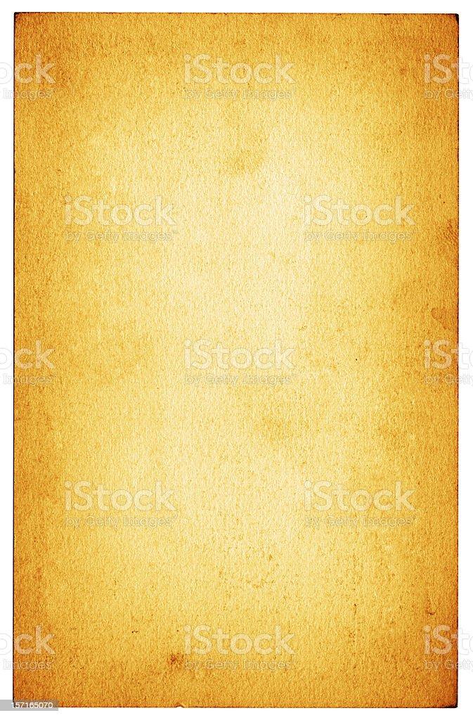 Orange Vintage Paper royalty-free stock photo