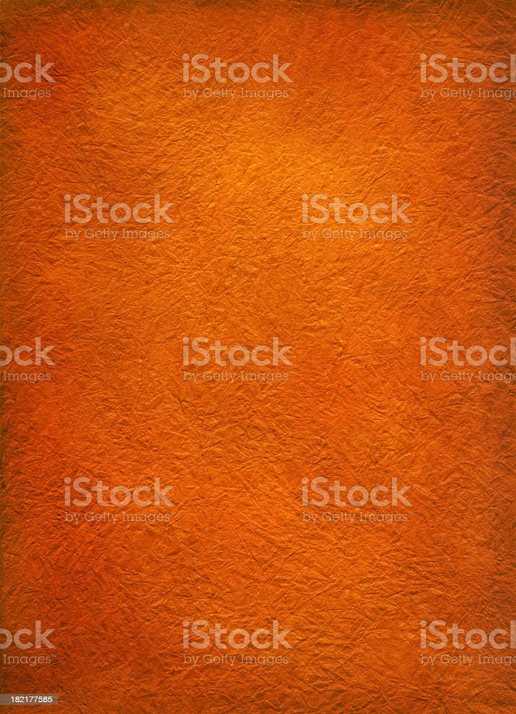 Orange Vintage Rice Paper royalty-free stock photo