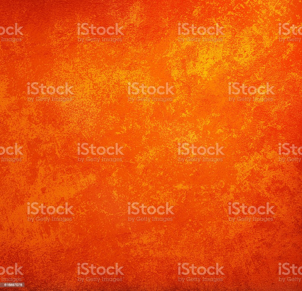 orange Vintage Style background with copy space for text  grunge stock photo