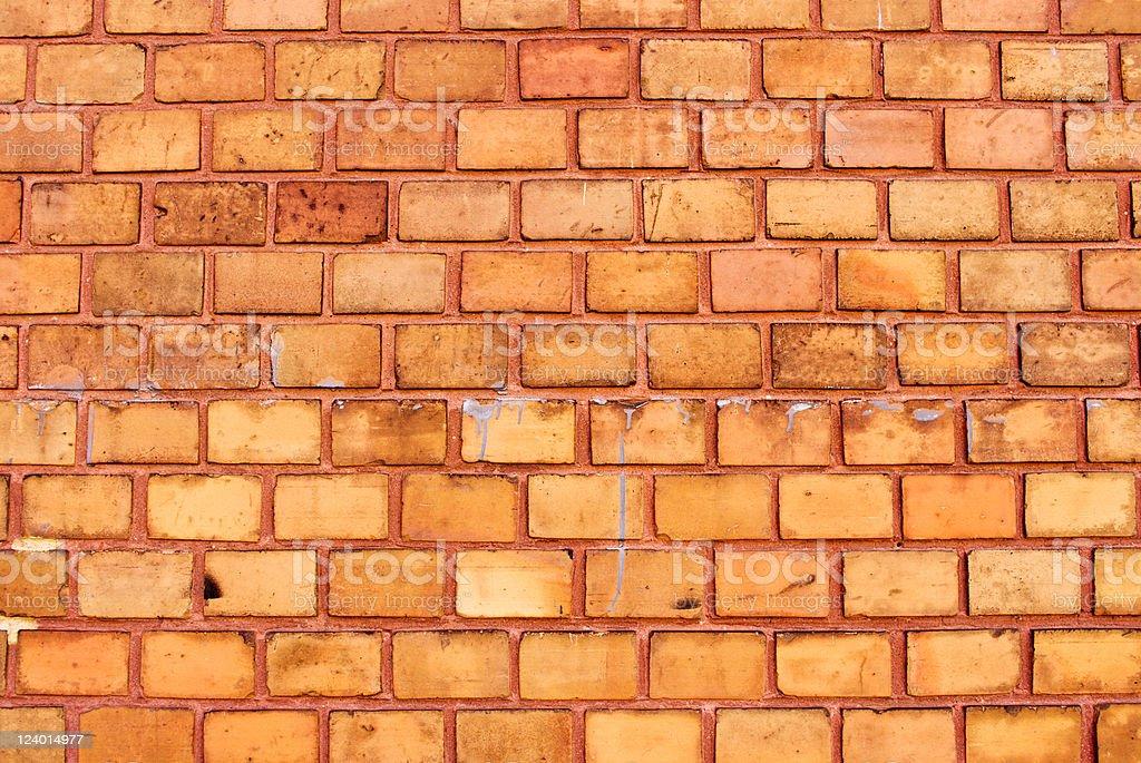 オレンジ色の壁の背景 ロイヤリティフリーストックフォト