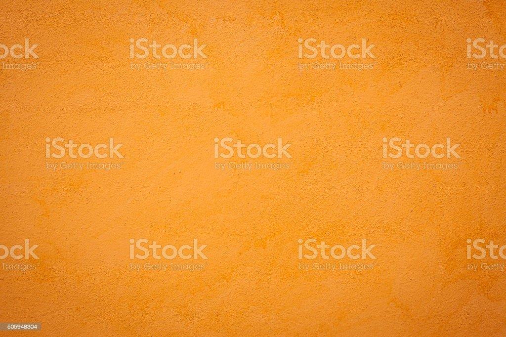 Orange Wall Texture stock photo