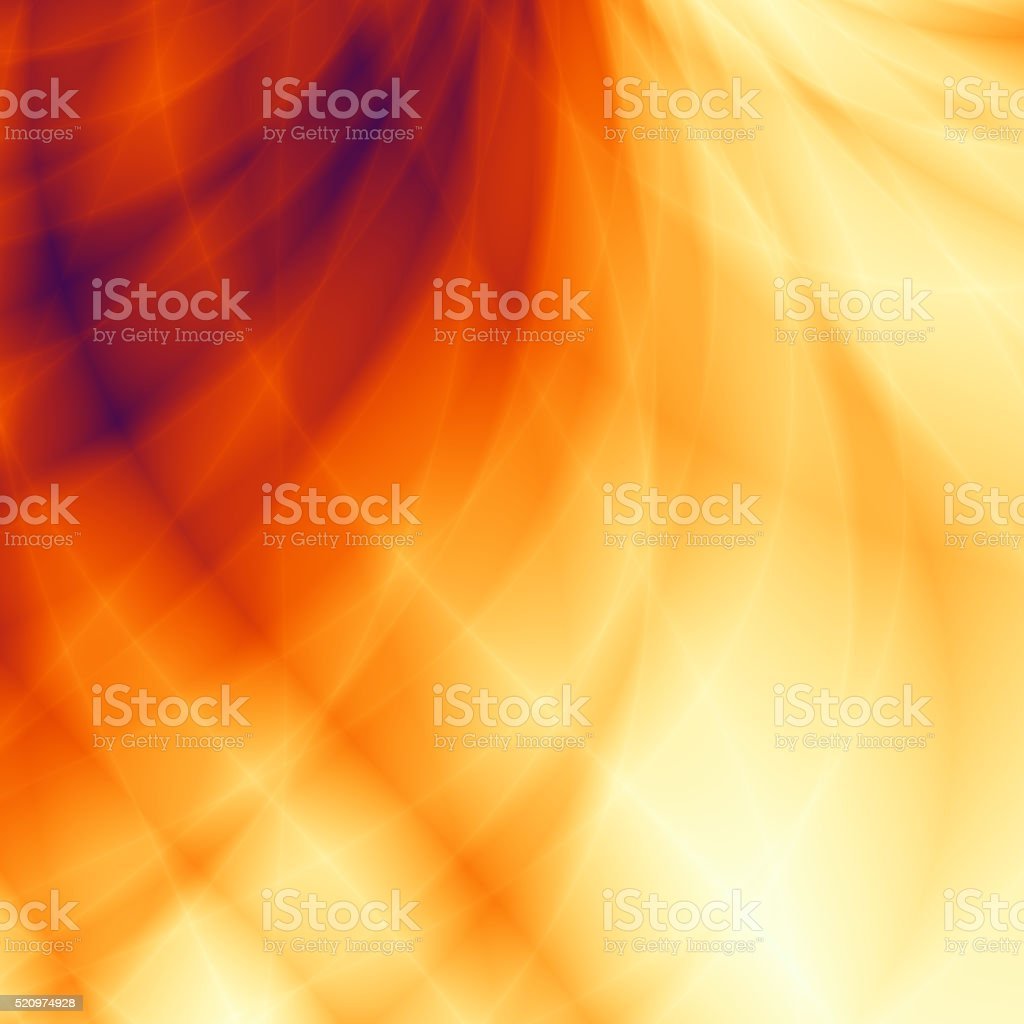 Orange wallpaper modern card design stock photo