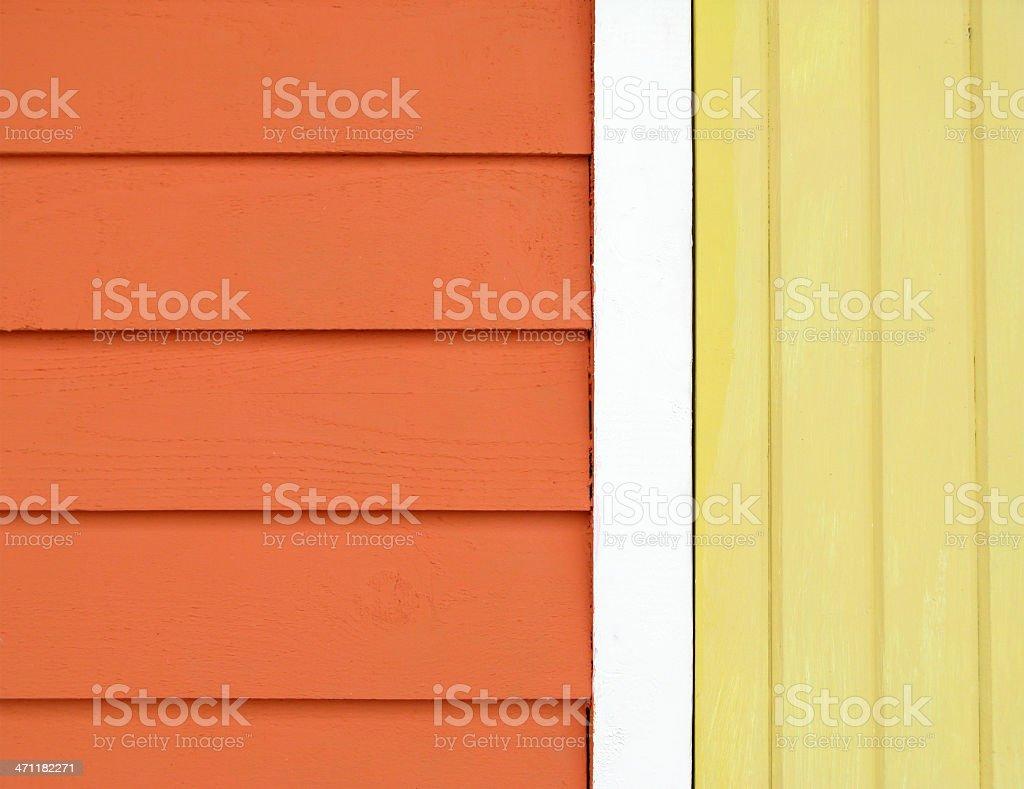 Orange Yellow and White Wood. stock photo