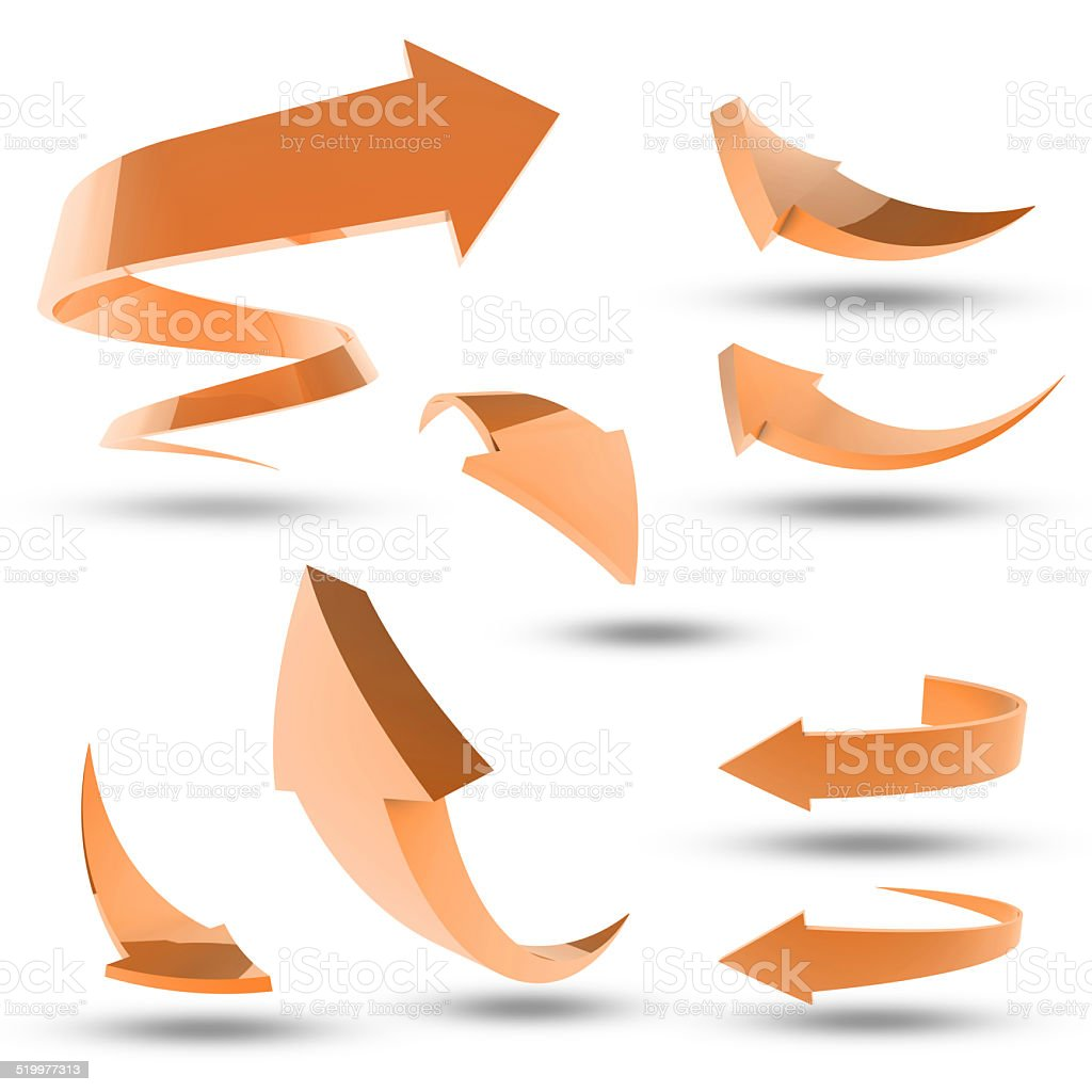 Orange you glad you came this way? stock photo