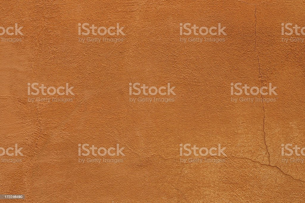 Orange/red colored Roman grunge wall texture royalty-free stock photo