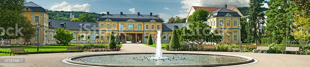 Orangerie in Gera, Thuringia Germany stock photo