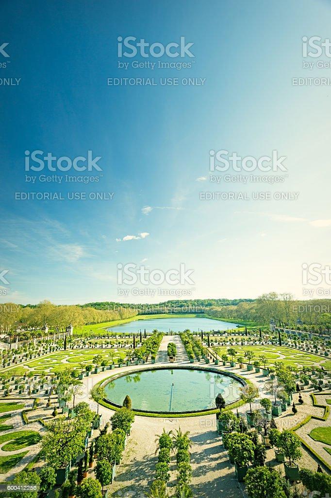 L'Orangerie - Versailles, France stock photo