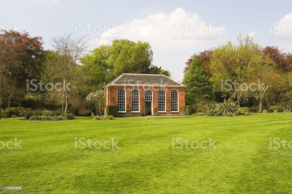 Orangery royalty-free stock photo