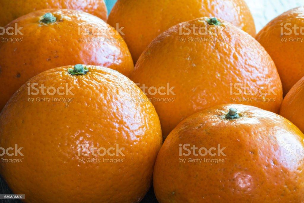 Oranges en gros plan stock photo