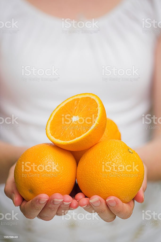 Oranges for you royalty-free stock photo