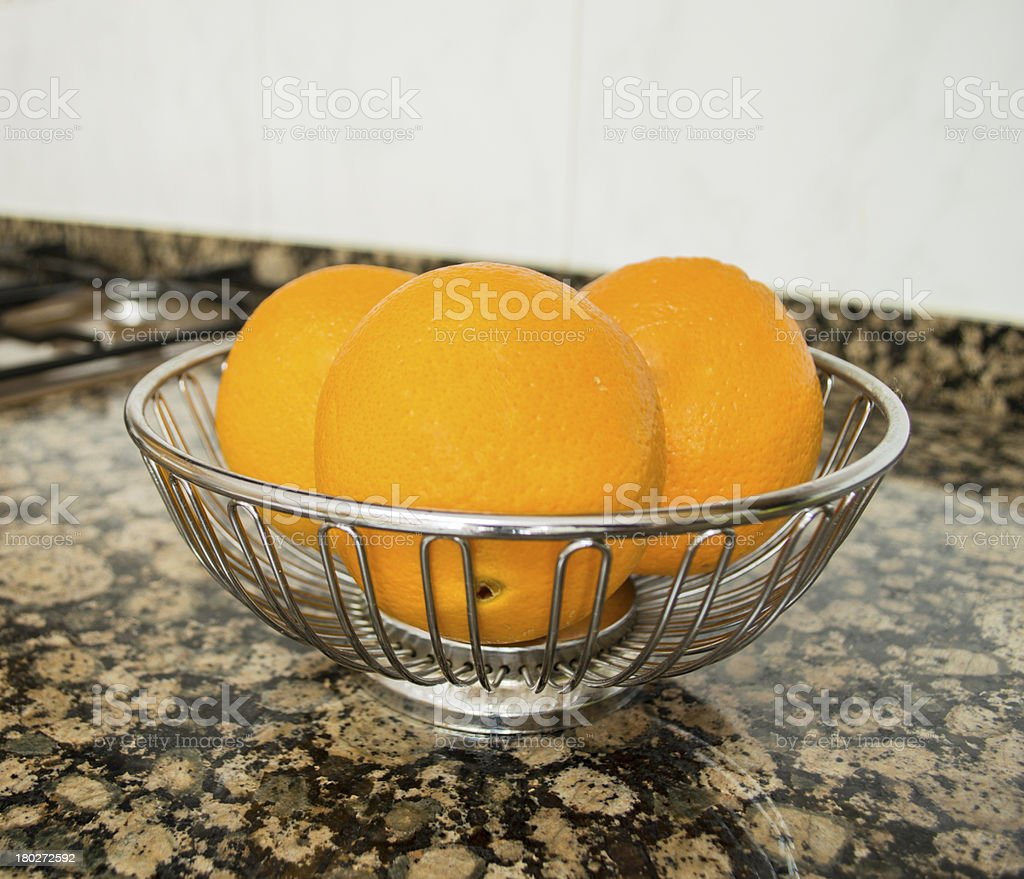 oranges in a container royalty-free stock photo