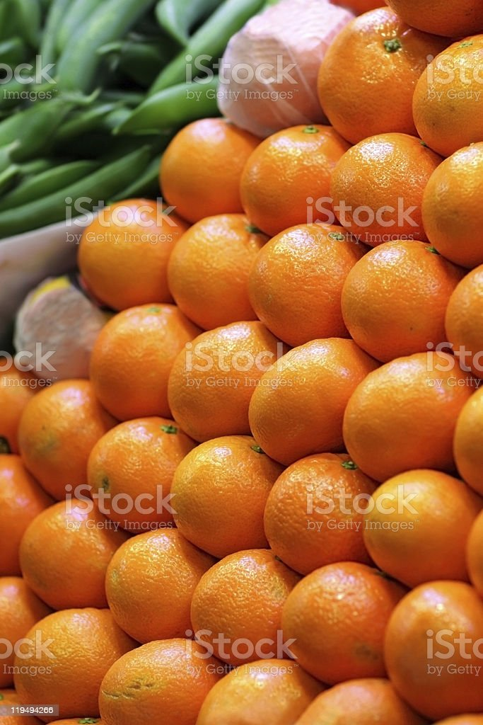 Oranges royalty-free stock photo