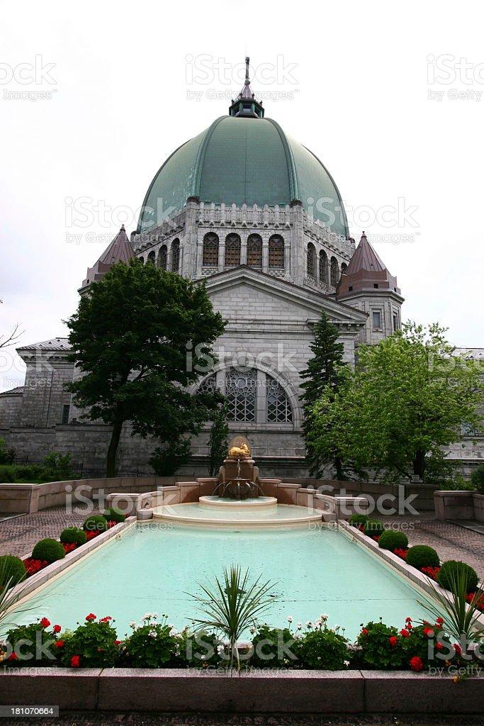 Oratoire Saint-Joseph du Mont-Royal stock photo