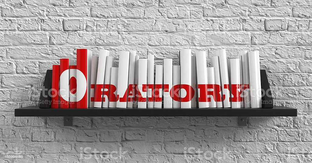 Oratory. Education Concept. stock photo