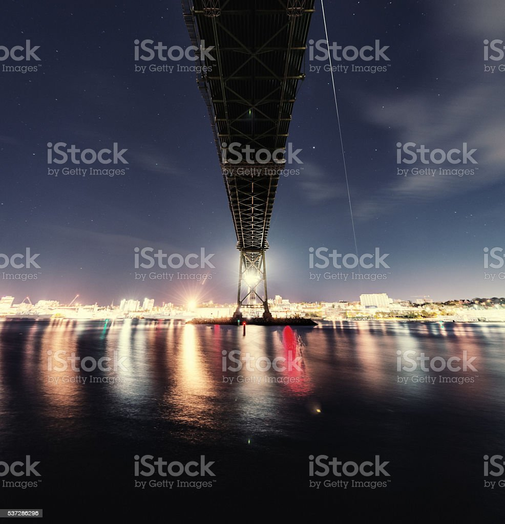 Orbiting Above stock photo