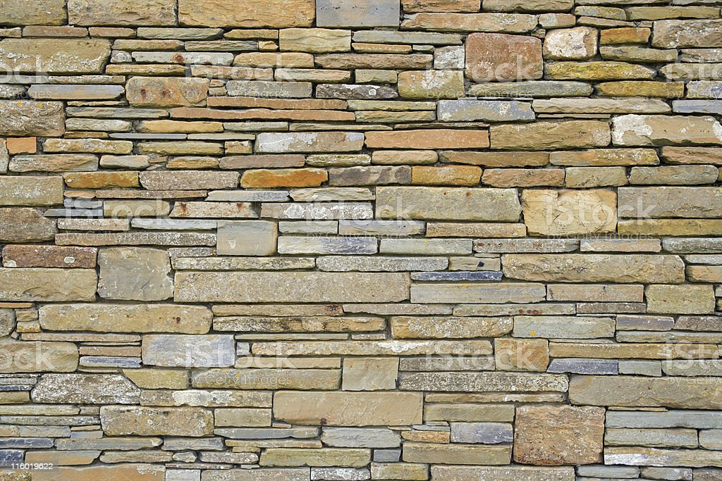 orcadian wall stock photo