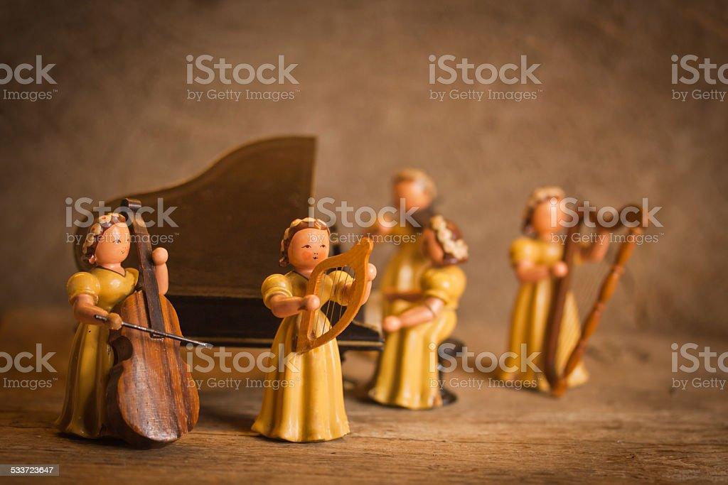 Orchestra stock photo